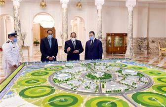 الرئيس السيسي يستعرض مخطط إعادة تأهيل وتطوير منشآت وزارة الداخلية | صور