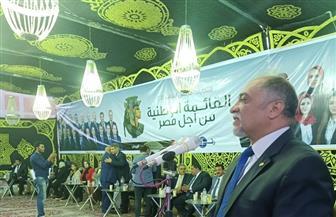 «القصبي» خلال مؤتمر جماهيري حاشد بالبحيرة: «وعي المصريين يحبط كل المؤامرات»