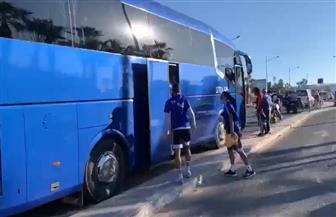 بيراميدز يتحرك لأداء مرانه الثاني بالمغرب إلى ملعب مولاي رشيد