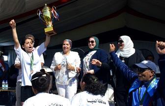 المنيا بطلا للدورة التنشيطية الأولى لدوري مدارس الكرة النسائية | صور