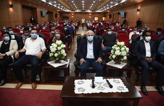 محافظ بورسعيد يفتتح الملتقى الثقافي الخامس لشباب المحافظات الحدودية | صور