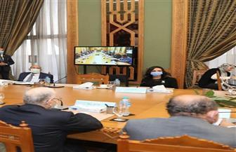 مايا مرسي تشارك في اجتماع الهيئة الاستشارية لإعداد الإستراتيجية الوطنية لحقوق الإنسان | صور