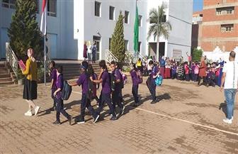 تعليم القليوبية: استقبال الطلاب وسط إجراءات وقائية مشددة