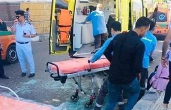إصابة 9 مواطنين في حادث انقلاب سيارة ميكروباص بمدينة المنصورة
