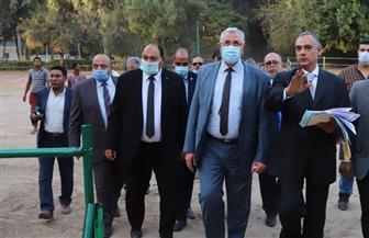 وزير الزراعة يتفقد أعمال التطوير ورفع كفاءة محطة الزهراء للخيول العربية