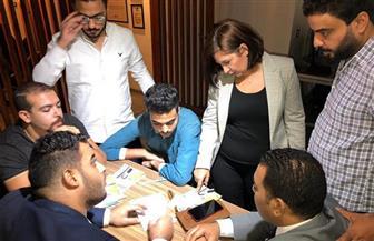 أميرة العادلي تستكمل فعاليات ورشة «خلي صوتك دايما مسموع» مع شباب القاهرة | صور