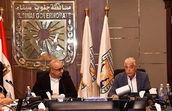 وزير الإسكان ومحافظ جنوب سيناء يعقدان اجتماعا لمتابعة مشروعات المحافظة | صور