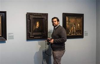 """نجيب معين """"قوميسير صالون القاهرة 59"""": أسباب كثيرة لتراجع سوق الفن بمصر   صور"""