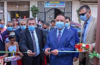 محافظ الإسكندرية يفتتح مدرستين جديدتين بإدارة المنتزه| صور