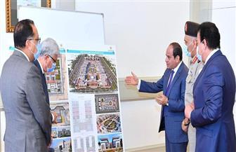 الرئيس السيسي يوجه بدقة الالتزام بالإجراءات الوقائية الخاصة بتعقيم المنشآت بمختلف الجامعات | صور
