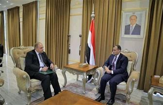 سفير مصر باليمن يؤكد موقف مصر الثابت الداعم للحكومة الشرعية