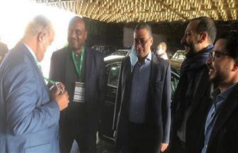 السفير المصري يرافق الزمالك لملعب المباراة