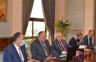3 وزراء يناقشون أولويات التعاون بين مصر والاتحاد الأوروبي مع مفوض سياسة الجوار | صور