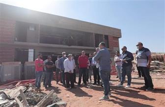 مجلس إدارة الأهلي يتفقد المشاريع الإنشائية في فرع «زايد» | صور