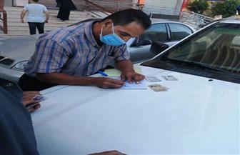 تغريم 102 سائق لعدم ارتداء الكمامة بالشرقية | صور