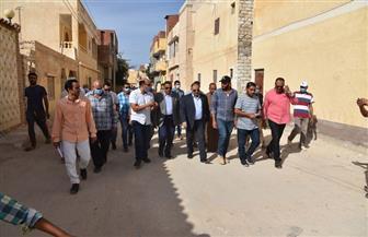 خالد شعيب يتفقد مشروعات الصرف  الجديدة بمرسى مطروح | صور