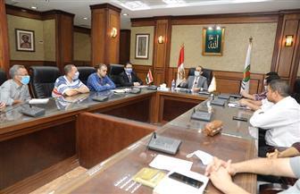 نائب محافظ سوهاج يعقد اجتماعا مع اللجنة الفنية لمتابعة المراكز التكنولوجية | صور