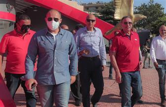جولة تفقدية لـ «الخطيب» بفرع الأهلي بمدينة نصر | صور