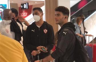 بعثة الزمالك تجري «مسحة كورونا» في مطار القاهرة