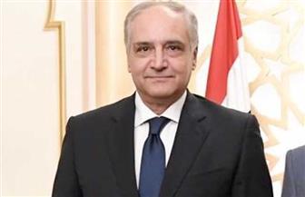 سفير مصر بالرياض يلتقي نائب وزير الموارد البشرية والتنمية الاجتماعية السعودي