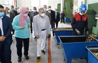 وزير الدولة للإنتاج الحربي يتفقد شركة أبو زعبل للصناعات المتخصصة | صور