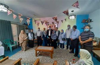 """جهاز 6 أكتوبر يحتفل باليوم العالمى للمسنين فى دار """"الياسمين""""   صور"""