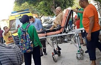 التضامن: فريق أطفال وكبار بلا مأوي ينقذ مسنا متواجدا بامتداد شارع رمسيس  صور