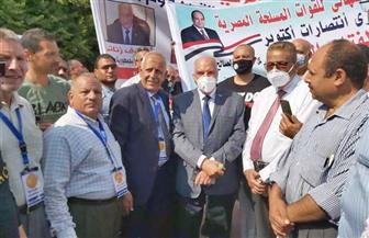 الزناتي يقود مسيرة لدعم خطوات بناء الدولة الحديثة