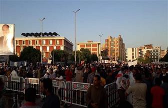 أهالي سوهاج يحتفلون بانتصارات أكتوبر في الميادين   صور