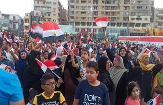 «تحيا مصر.. تحيا مصر».. هتافات تعلو وسط الفيوم احتفالا بانتصارات أكتوبر | صور