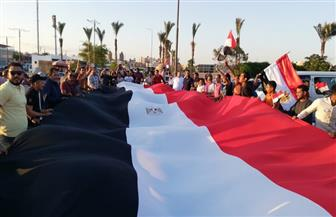 المئات من أبناء السويس يحتفلون بانتصارات أكتوبر | صور