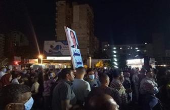 «شيبة» و«الصغير» يشعلان حماس المحتفلين بذكرى انتصارات أكتوبر بالإسكندرية | صور