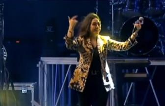 """المطربة بوسي تشارك في احتفالية المنصة وتغني لأهالي القاهرة وتشدو على أنغام """"تسلم الأيادي"""""""
