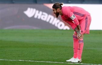 شكوك حول مشاركة راموس في مباراة ريال مدريد وشاختار