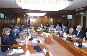 وزير التعليم العالي: الرئيس السيسي يولي اهتماما بالغا بالروابط المصرية - الإفريقية| صور