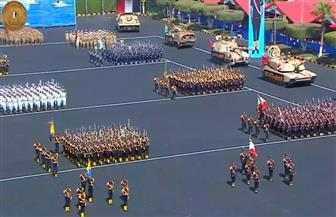 خريجو الكليات العسكرية ينفذون عمليات تخصصية بالمدرعات والمدفعية..  وطلبة الشرطة يشاركون في اقتحام مبان
