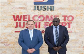 وزير الري بجنوب السودان يزور المنطقة الاقتصادية لبحث التعاون المشترك | صور