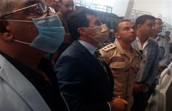 وزير الرياضة يتفقد استاد القاهرة استعدادا للمباريات الإفريقية للأهلى والزمالك | صور