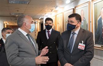 وزير الري العراقي يشيد بالخبرات المصرية ويبحث التنسيق لتنظيم أسبوع بغداد للمياه | صور
