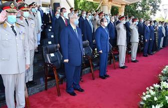 «متحدث الرئاسة» ينشر صور حفل تخرج الدفعات الجديدة 2020 من الكليات والمعاهد العسكرية
