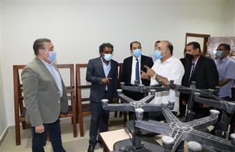 محافظ المنوفية ورئيس هيئة قصور الثقافة يتفقدان قصر شبين الكوم الجديد| صور
