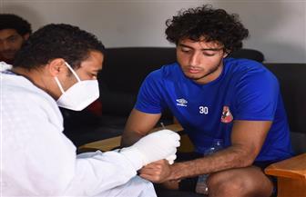 لاعبو الأهلي يجرون مسحة طبية غدا