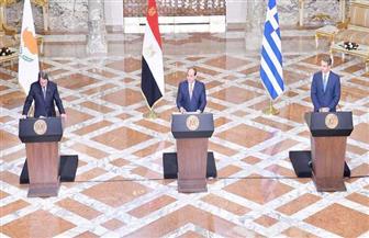 أبرز نتائج القمم الثلاثية بين مصر وقبرص واليونان | فيديو جراف