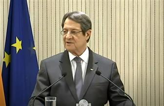 الرئيس القبرصي: ندعم الحل السياسي للأزمتين الليبية والسورية