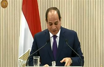 بث مباشر للمؤتمر الصحفي للرئيس السيسي ونظيره القبرصي ورئيس وزراء اليونان
