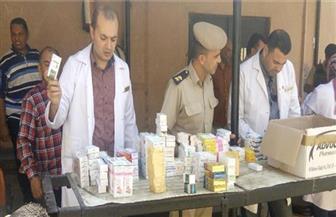 الداخلية توقع الكشف الطبي على 285 من نزلاء سجن معسكر عمل المسجونين