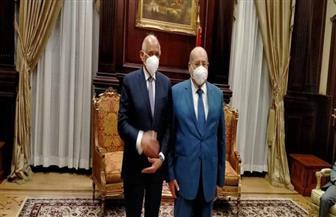 رئيس البرلمان: المستشار عبد الوهاب عبد الرازق شخصية سياسية ووطنية وقانونية كبيرة | صور