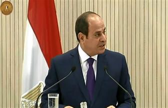 نص كلمة الرئيس السيسي خلال المؤتمر الصحفي مع رئيس قبرص ورئيس وزراء اليونان