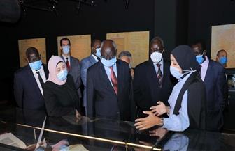 وزير التعليم العالي بجنوب السودان يزور مكتبة الإسكندرية | صور