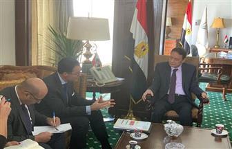 رئيس «الأعلى للإعلام» يلتقي السفير الفرنسي في القاهرة | صور